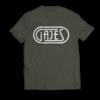 GAJES T-Shirt Classic Khaki
