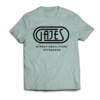 Gajes Street Cou(L)ture Offenders T-Shirt Offenders Carabian Blue