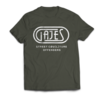 Gajes Street Cou(L)ture Offenders T-Shirt Offenders Khaki