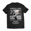 """Gajes Street Cou(L)ture Offenders T-Shirt Offenders ''SPREAD LOVE"""""""