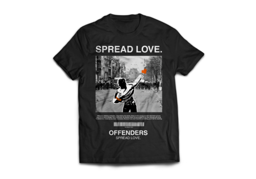 Gajes Street Cou(L)ture Offenders SPREAD LOVE SHIRT