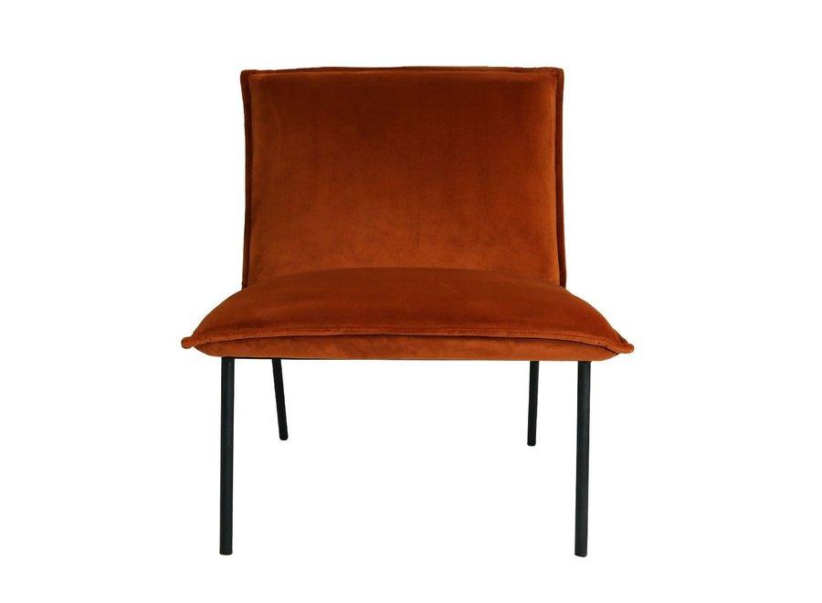 Fauteuil Lola - Velvet Oranje