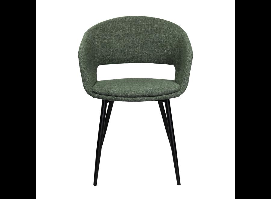 Chaise de salle à manger Dean - Vert