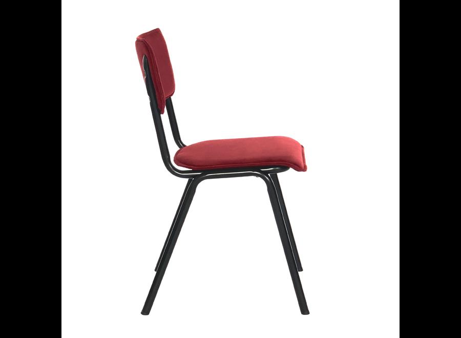 Chaise d'école Cas - Velvet Rouge