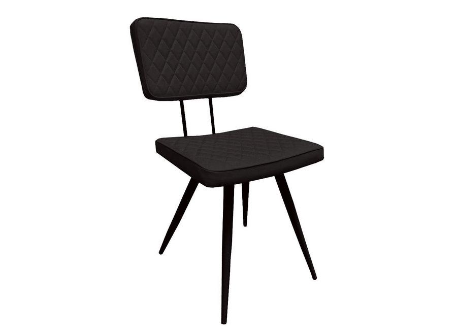 Chaise de salle à manger Max - Noir