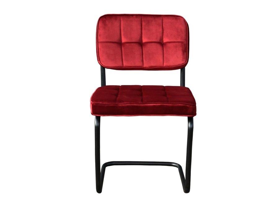 Chaise de salle à manger Ivy - Rouge