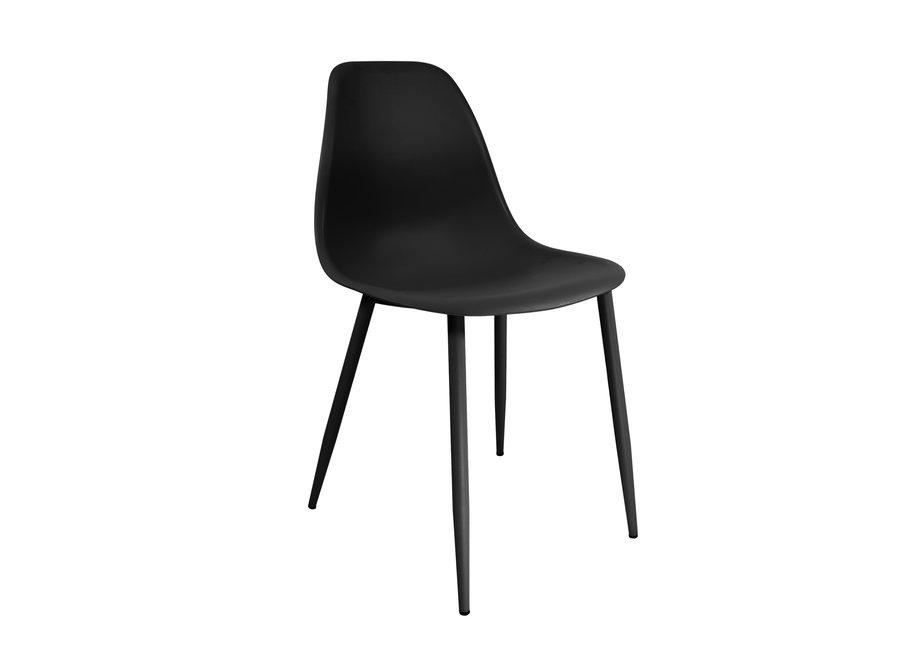 Designstoel Yara - Zwart