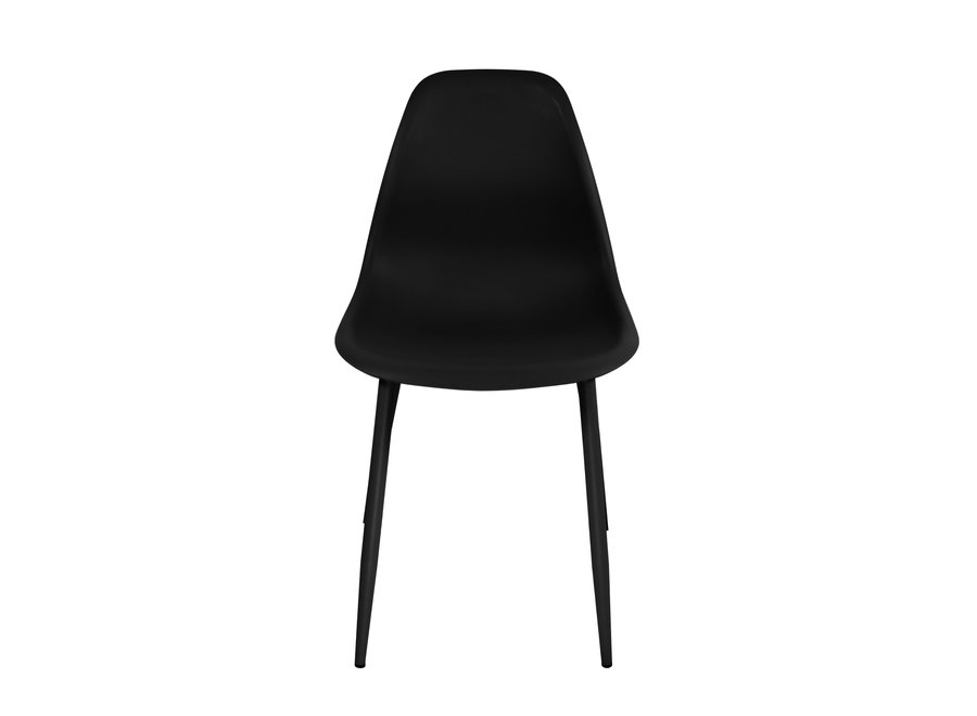 Chaise design Yara - Noire
