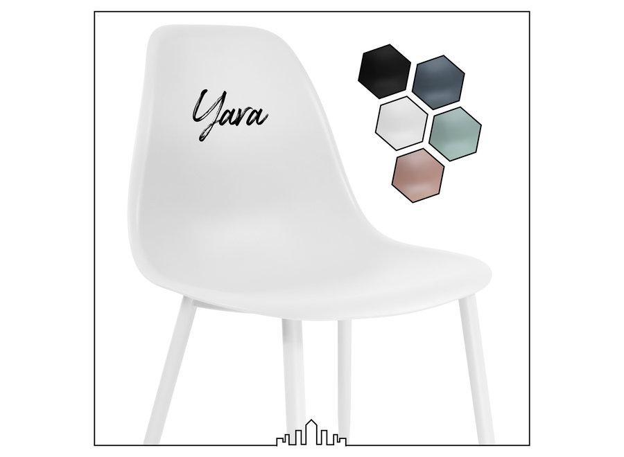 Designstoel Yara - Wit