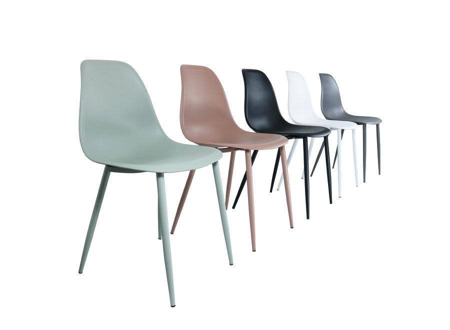 Chaise design Yara - Gris
