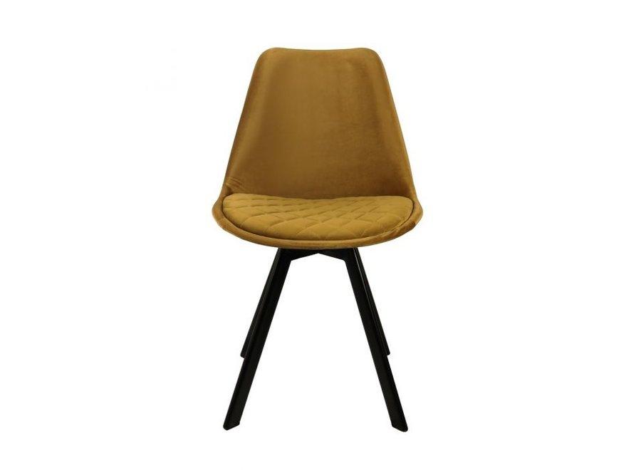 Chaise de salle à manger Soof - Or