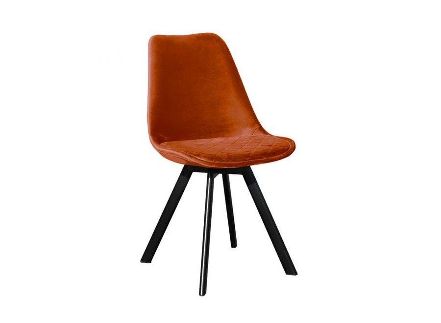 Chaise de salle à manger Soof - Orange