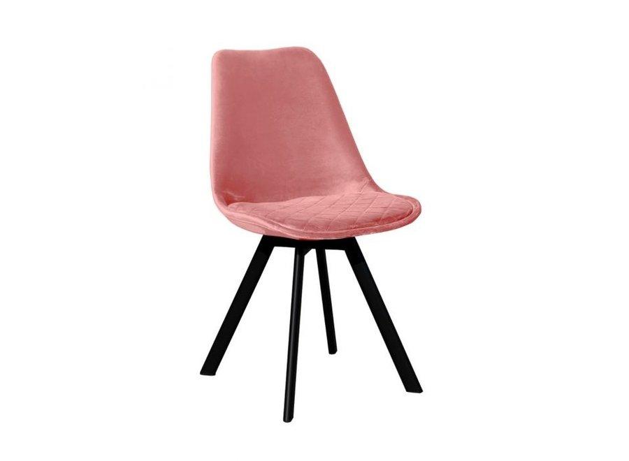 Chaise de salle à manger Soof - Rose
