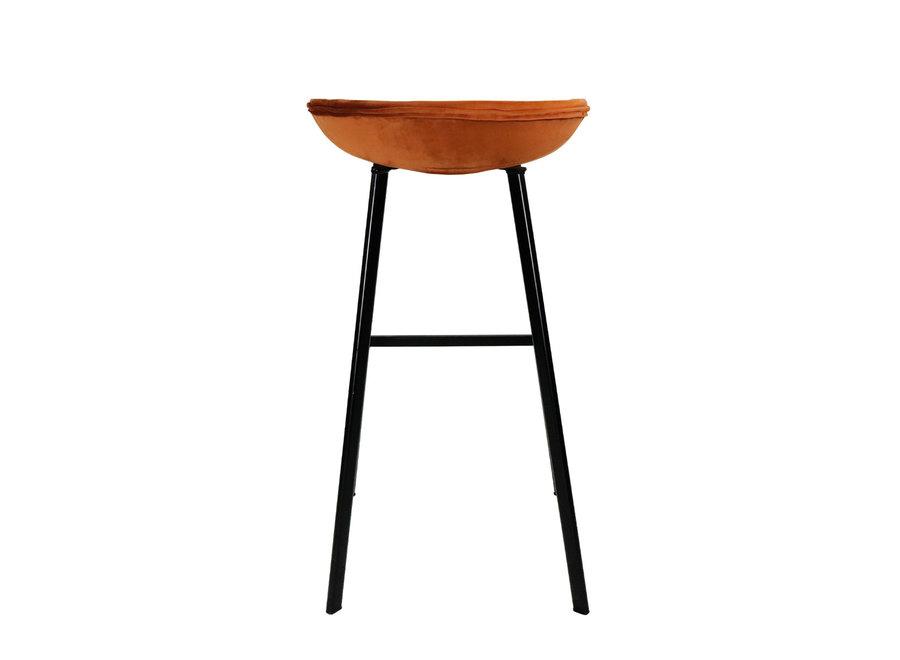 Barkruk Finn hoog - Oranje