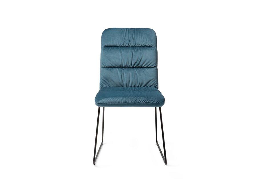 Chaise de salle à manger Aira Teal - Slide