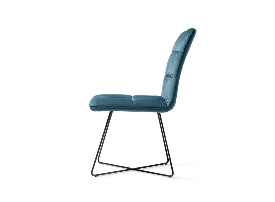 Chaise de salle à manger Aira Teal - Cross