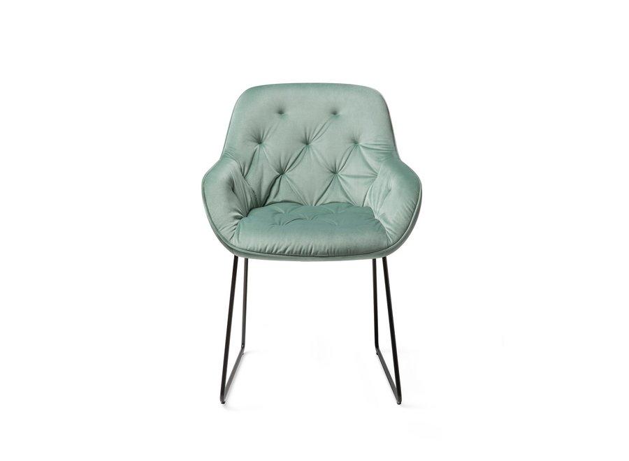Chaise de salle à manger Tara, Jade- Slide