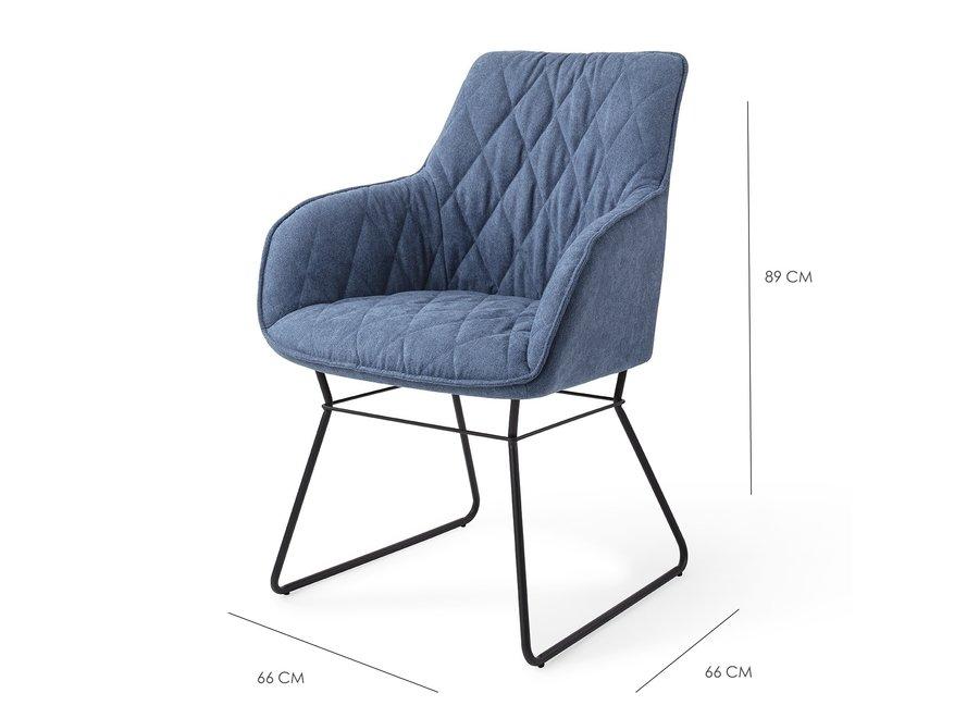 Chaise de salle à manger Royal Blue