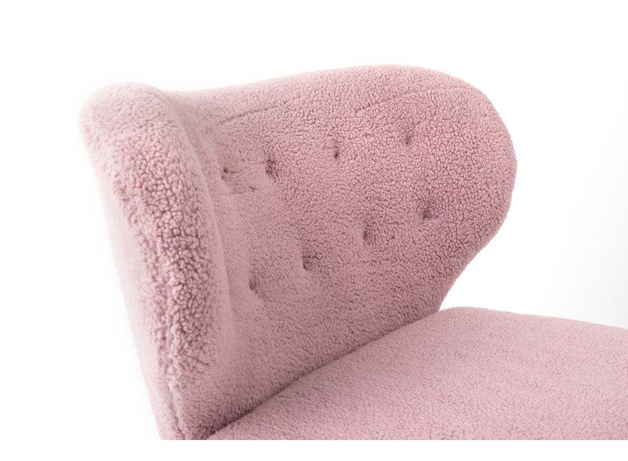 Fauteuil Lounge Kita Pink
