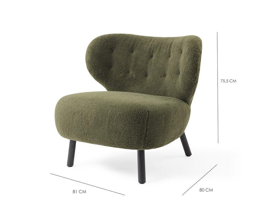 Fauteuil Lounge Kita Green