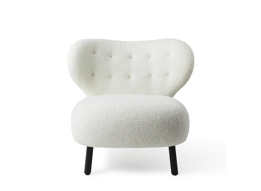 Fauteuil Lounge Kita Crème
