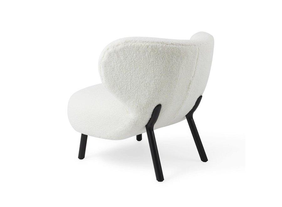 Kita Lounge stoel Cream
