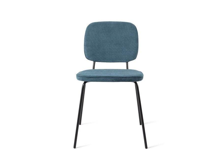 Chaise de salle à manger Vender  Bleu