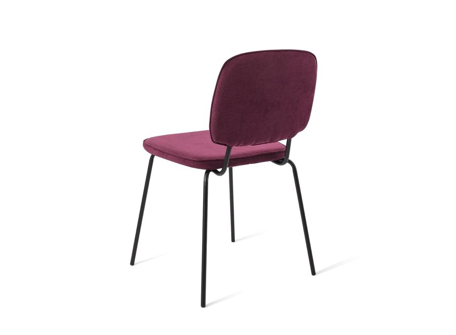 Chaise de salle à manger Vender Rouge