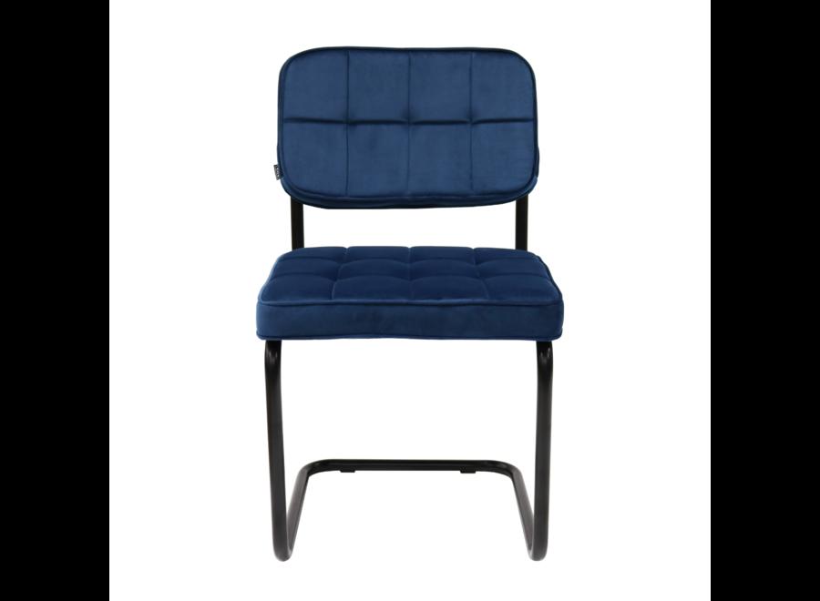 Chaise de salle à manger Ivy - Bleu Foncé
