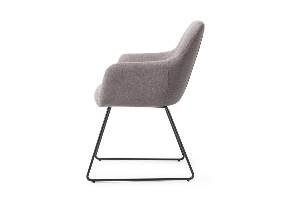 Chaise de salle à manger Kinko Earl Grey, Slide