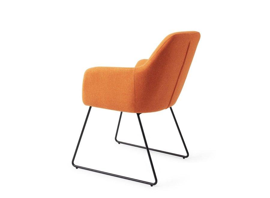 Chaise de salle à manger Kinko - Tangerine,  Slide