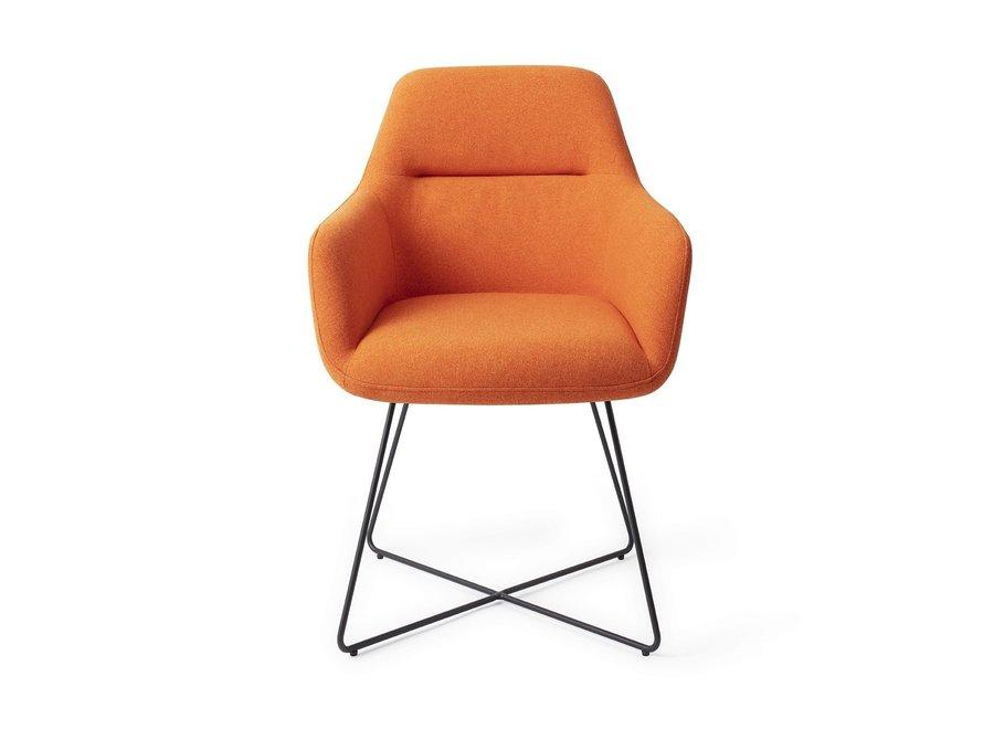 Chaise de salle à manger Kinko - Tangerine, Cross