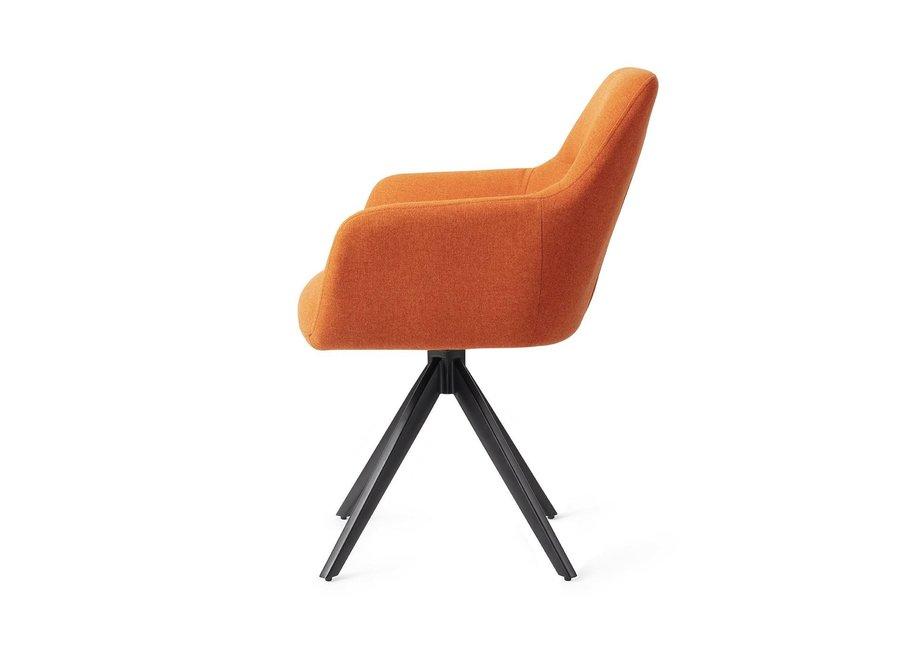 Chaise de salle à manger Kinko - Tangerine, Turn