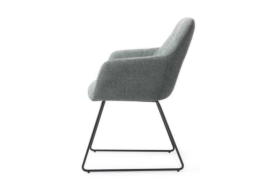 Chaise de salle à manger Noto - Real Teal Slide