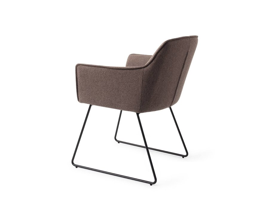 Chaise de salle à manger Hofu - Potters Clay, Slide