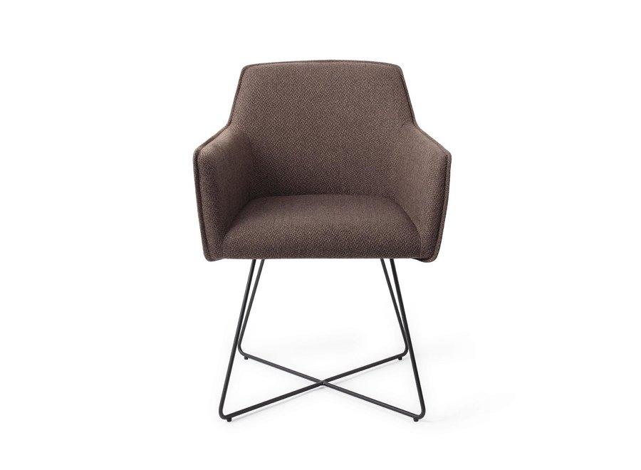 Chaise de salle à manger Hofu  - Potters Clay, Cross