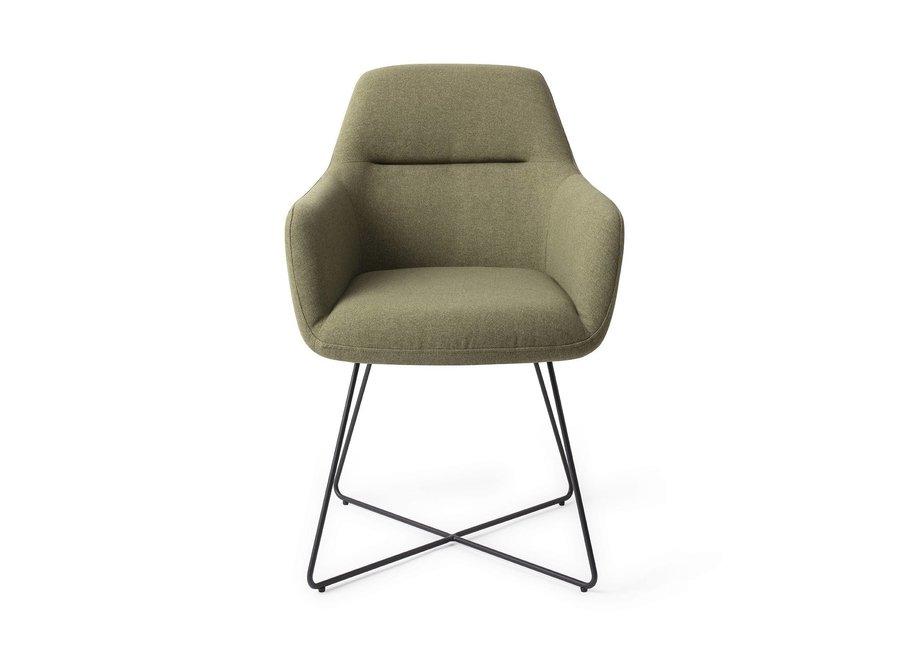 Chaise de salle à manger Kinko  Green Hunter, Cross