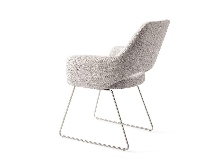 Chaise de salle à manger Yanai - Pigeon Slide Steel
