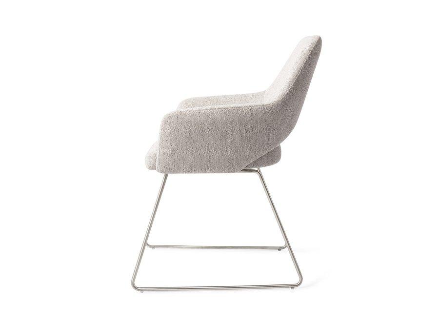 Chaise de salle à manger Yanai - Pigeon Cross Steel