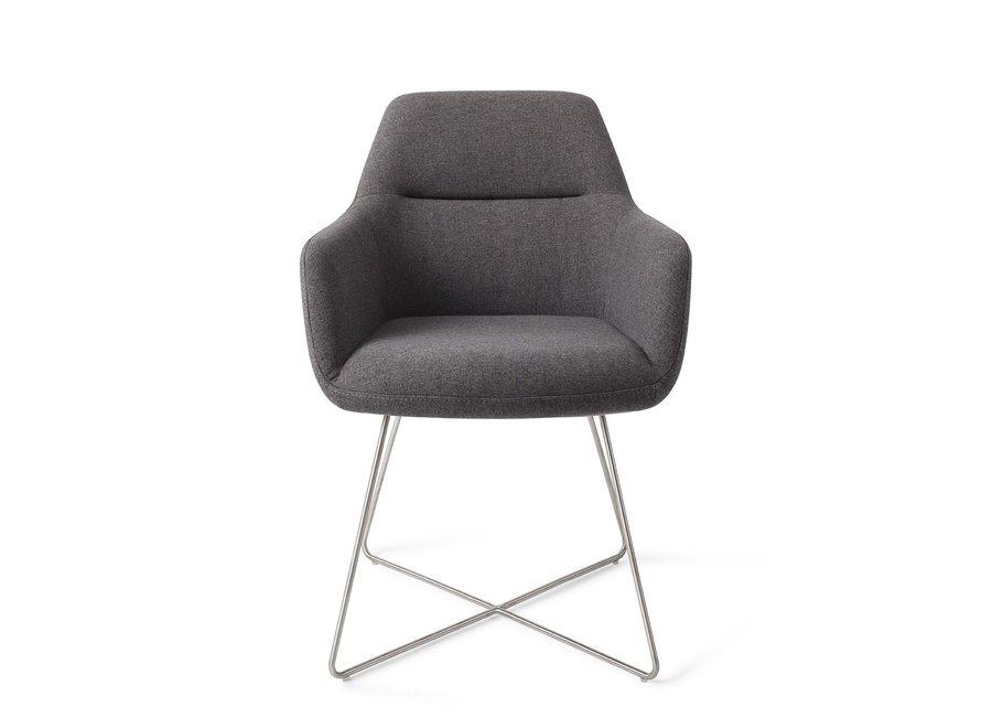 Chaise de salle à manger Kinko - Shadow Cross Steel