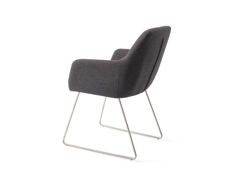 Chaise de salle à manger Kinko - Shadow Slide Steel