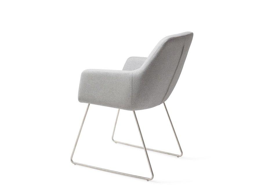Chaise de salle à manger Kinko - Cloud Slide Steel