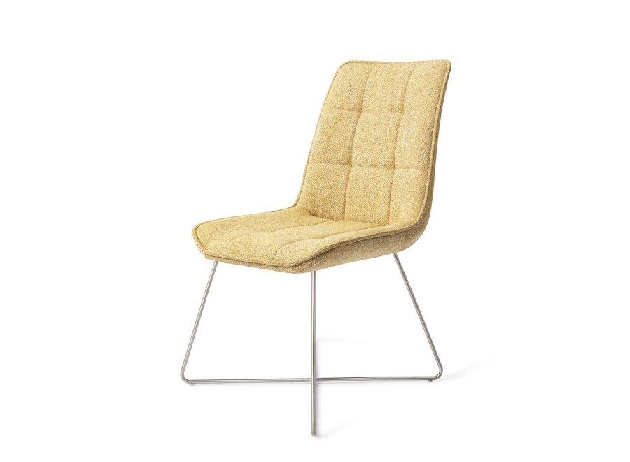 Chaise de salle à manger Ota Bumble Bee, Cross steel