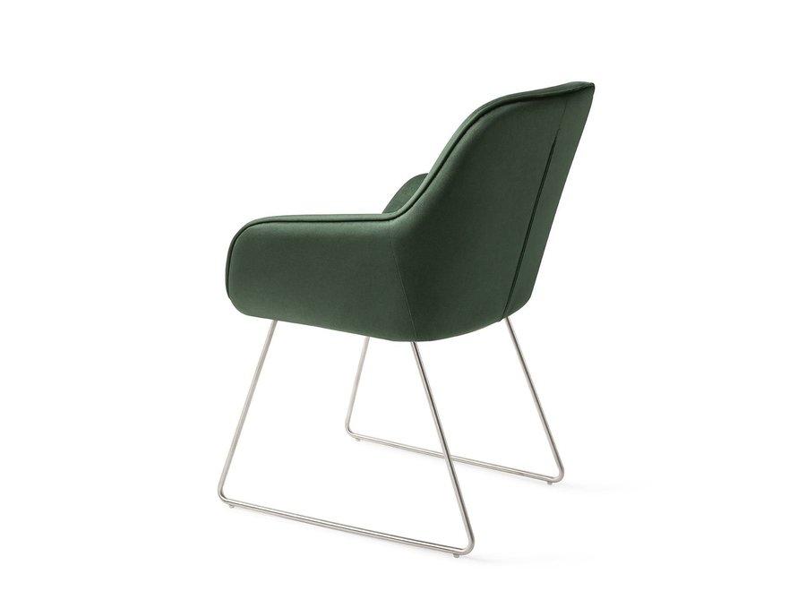 Chaise de salle à manger Tara Jungle Zen, Slide steel