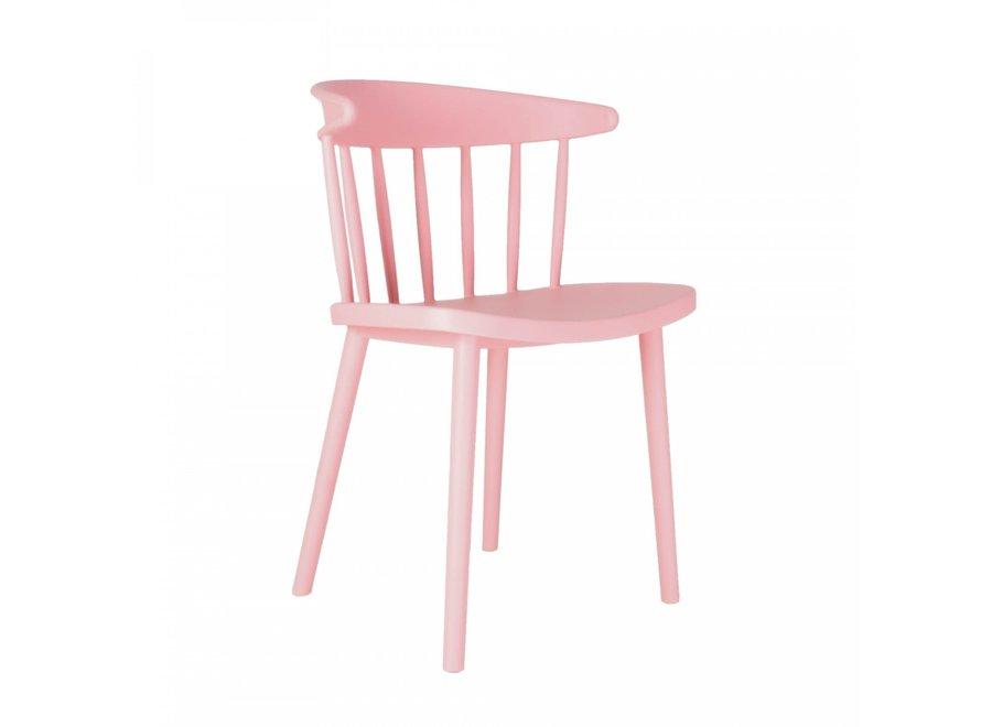 Parma kunststof - roze