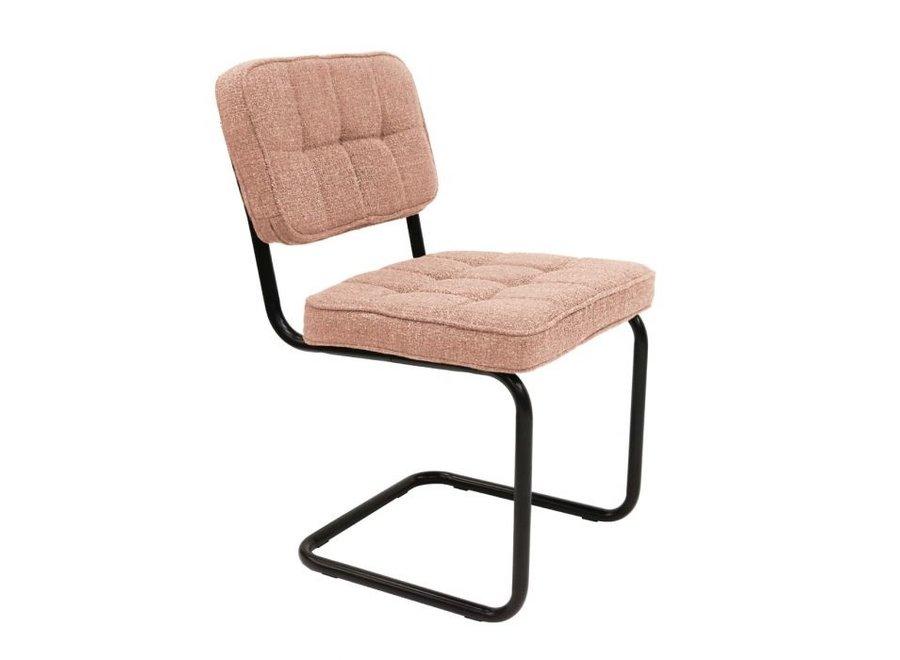 Chaise de salle à manger Yves - Rose
