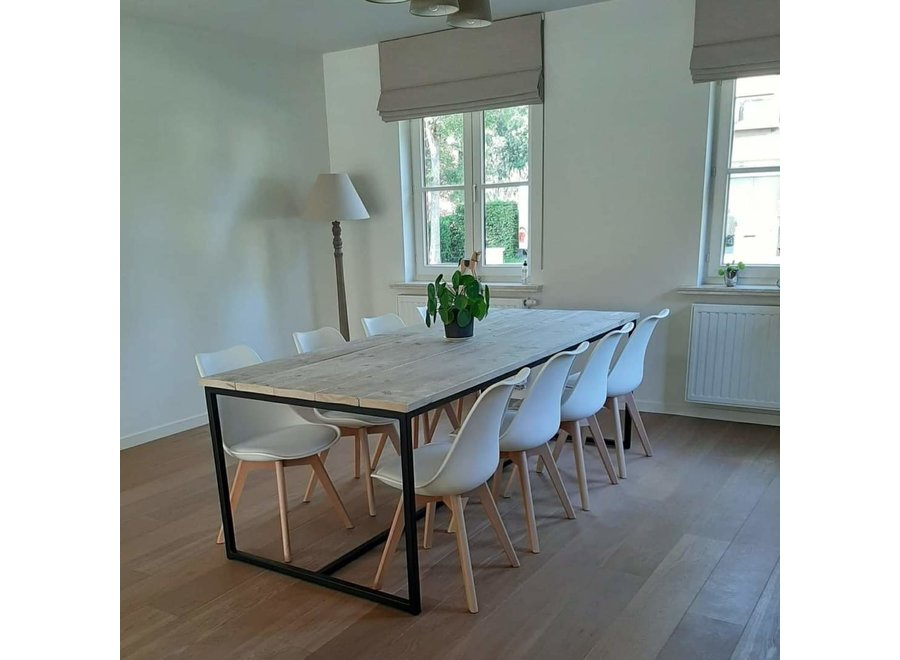 Eetkamertafel Hip Steigerhout