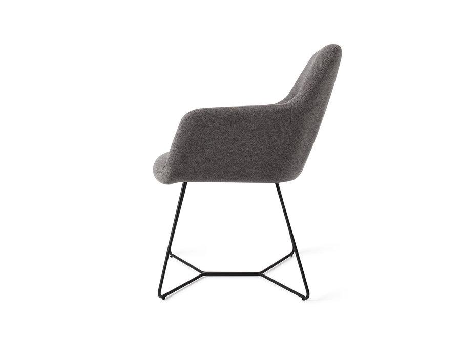 Chaise de salle à manger Kinko - Shadow, Beehive Black