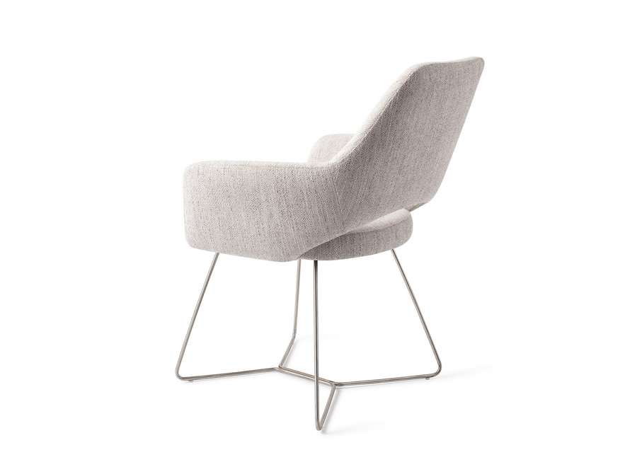 Chaise de salle à manger Yanai - Pigeon, Beehive Steel