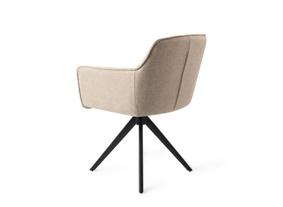 Chaise de salle à manger Hofu - Wild Walnut, Turn Black